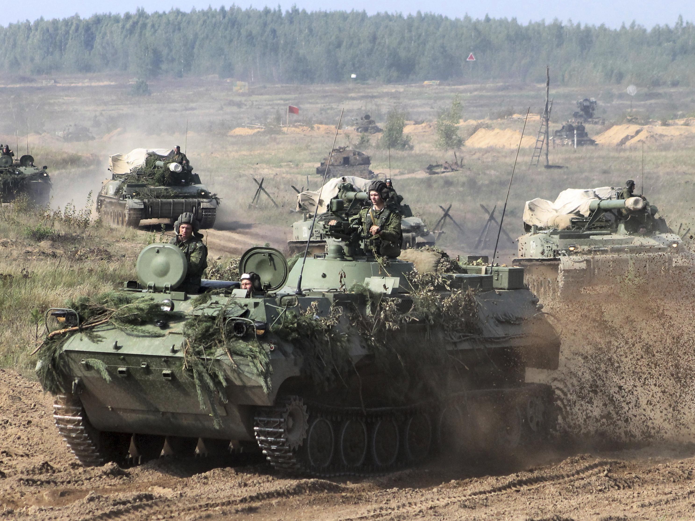 USA military gear reaches Poland ahead of Russian war games