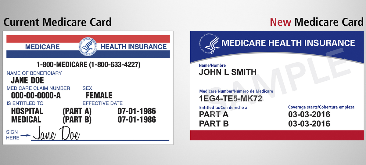 Medicare Is Mailing 60 Million New Cards To Prevent ...
