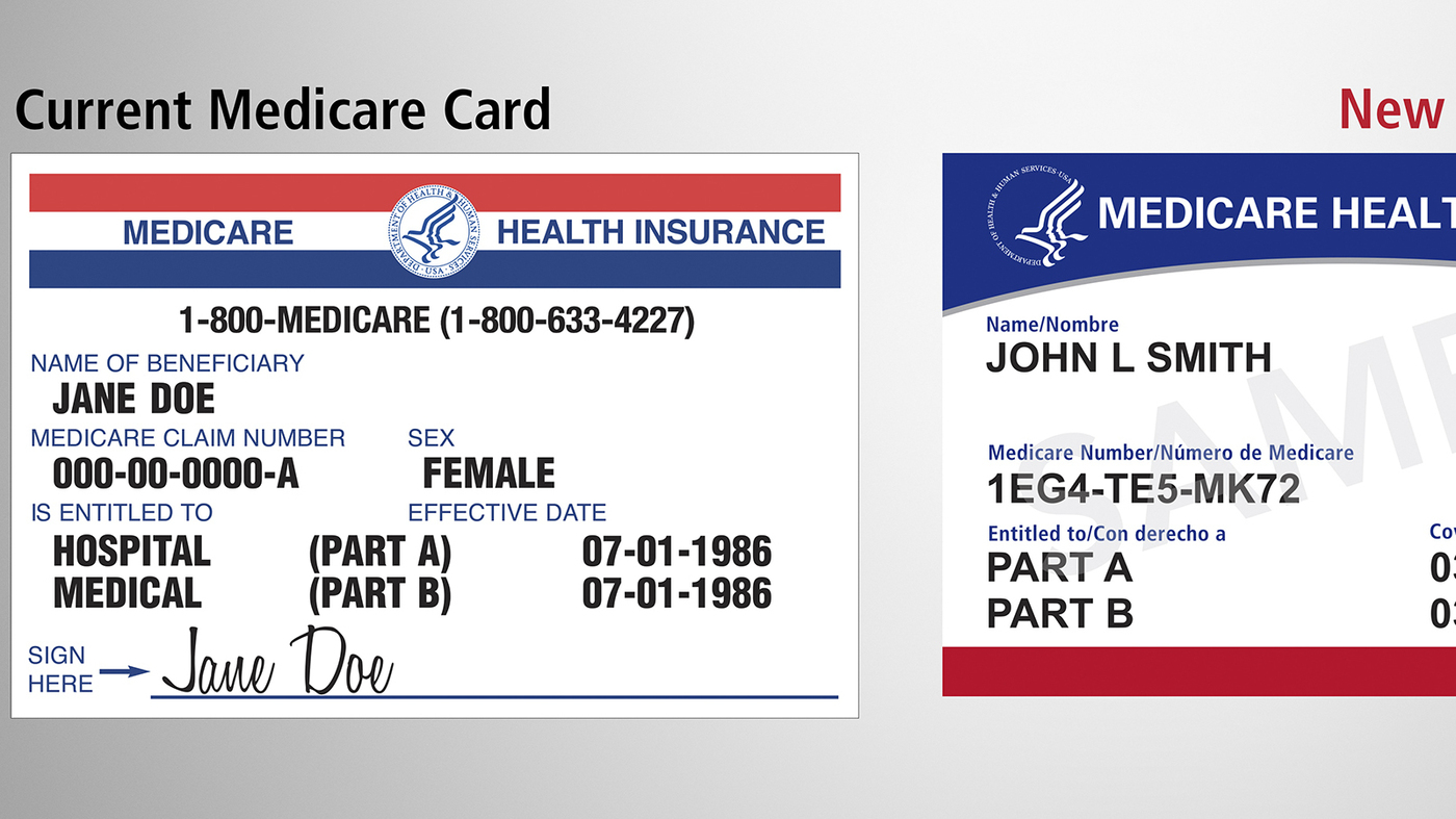 Medicare is mailing 60 million new cards to prevent identity theft medicare is mailing 60 million new cards to prevent identity theft shots health news npr ccuart Image collections