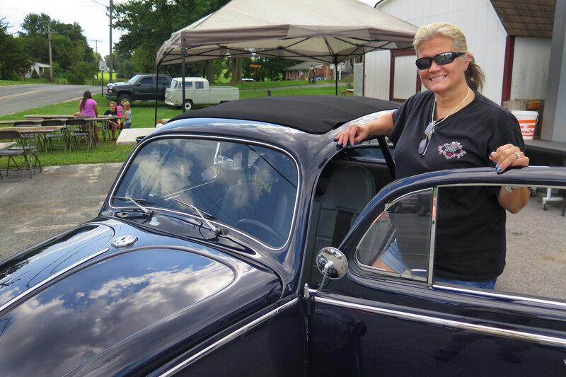 Restoring VW Beetles, Buses     And Dreams : NPR