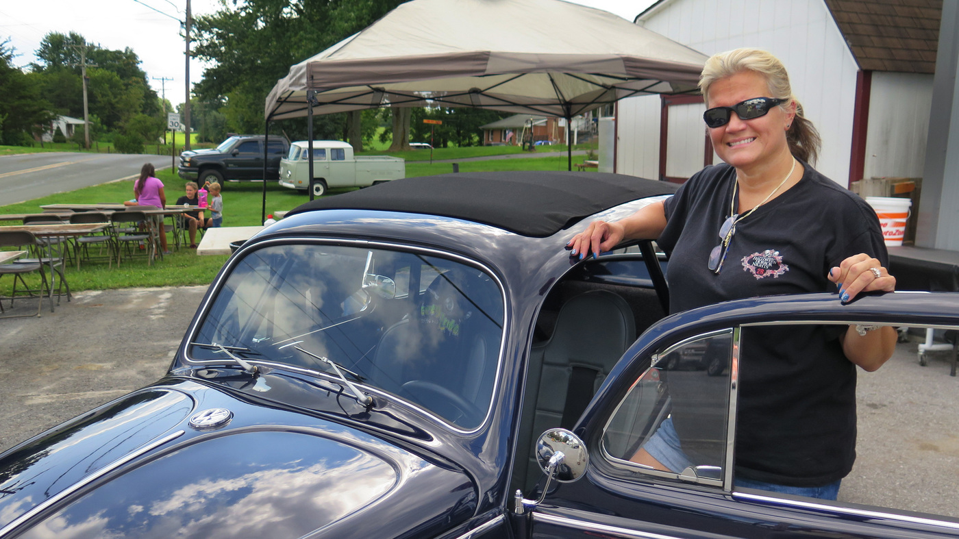 Restoring VW Beetles, Buses ... And Dreams : NPR