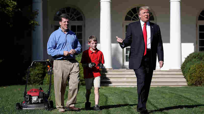 Mowing In America: 11-Year-Old Entrepreneur Tackles White House Lawn