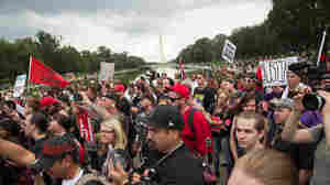 A Mostly Typical Saturday In Washington, D.C.: Political Rallies — Plus Juggalos