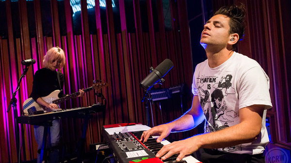 Lo Moon performs live in the studio for KCRW.