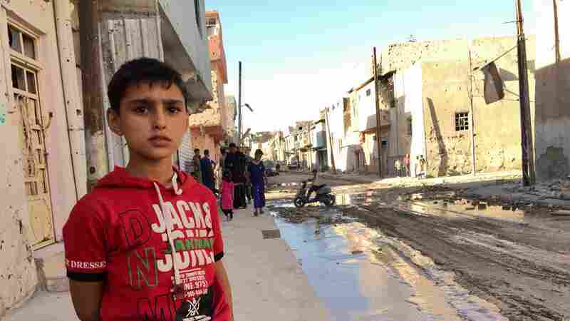 As East Mosul Comes Back To Life, West Mosul Remains In Ruins