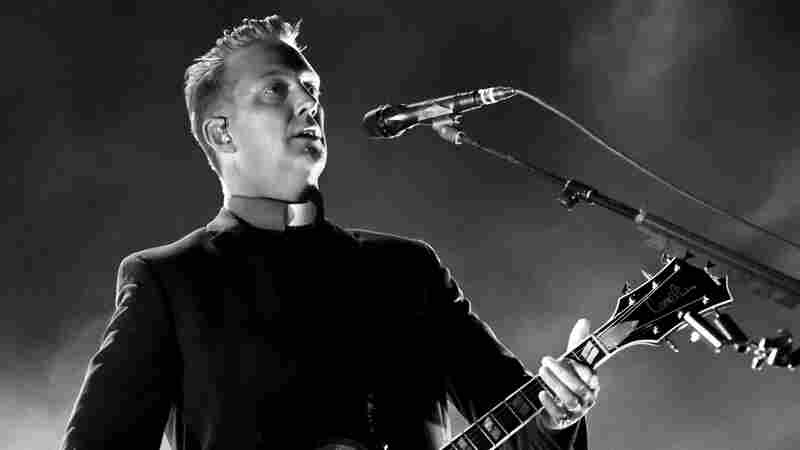 Josh Homme of Queens of the Stone Age performs at the Forum in Inglewood, Calif. on Oct. 31, 2014.