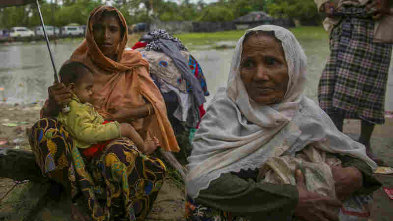 Bangladesh Copes With Chaos: Rohingya Refugees Are 'Coming And Coming'