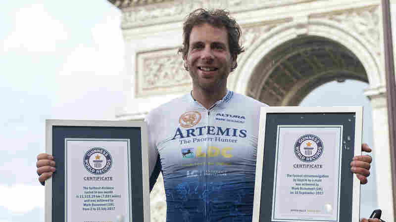 Around The World In Not Quite 80 Days, Cyclist Smashes Record