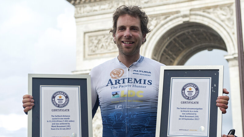 632a1c05608 Around The World In Not Quite 80 Days, Cyclist Smashes Record : The ...