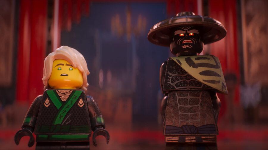 Plastic LessThanFantastic The LEGO Ninjago Movie  NPR