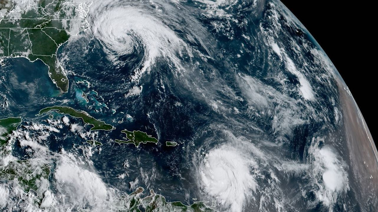 Hurricane Maria strengthens to Category 3 storm in western Caribbean