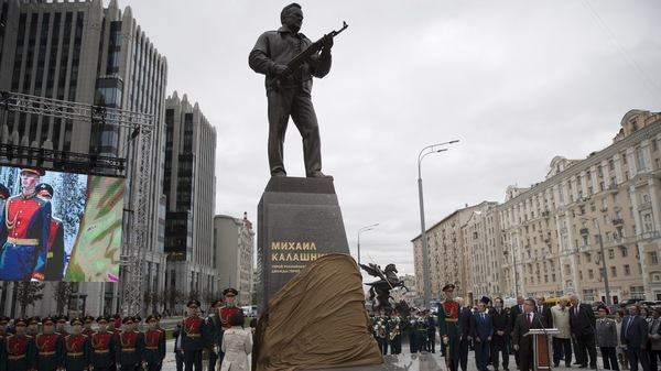 Some Russians Fired Up Over New Kalashnikov Monument