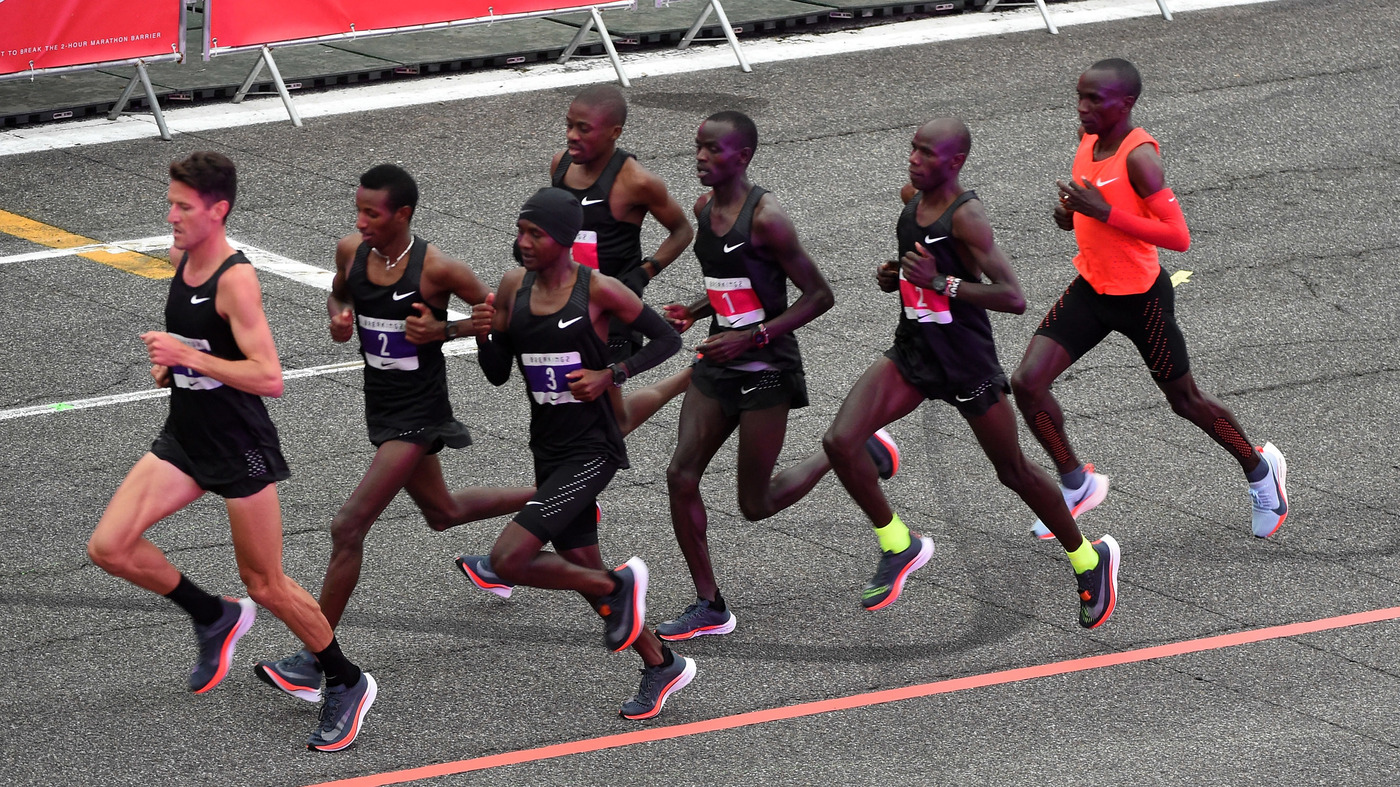 318183db39366 Film Chronicles The Road To The 2-Hour Marathon  It s  Just 25 Seconds  Away    NPR