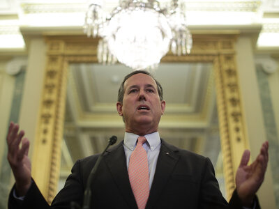 How Rick Santorum Got A Haircut And Revived The GOP's Obamacare Repeal Effort