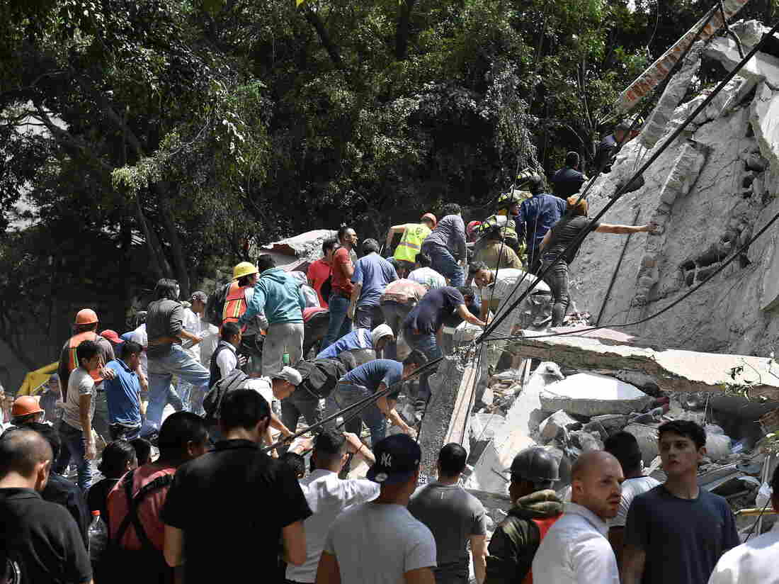 Earthquake hits Mexico, 200 recorded dead