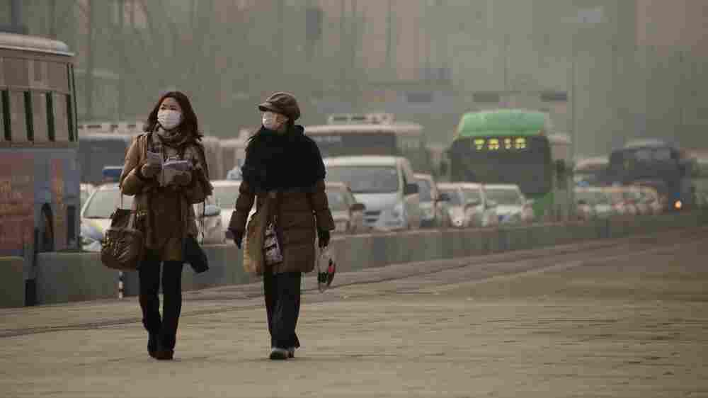 Armed With NASA Data, South Korea Confronts Its Choking Smog