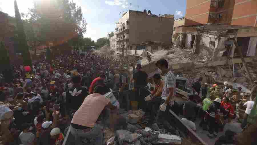Powerful Quake Devastates Central Mexico, Leaving More Than 200 Dead