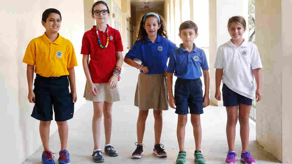 Miami Fourth-Graders Write About Their Experiences With Hurricanes