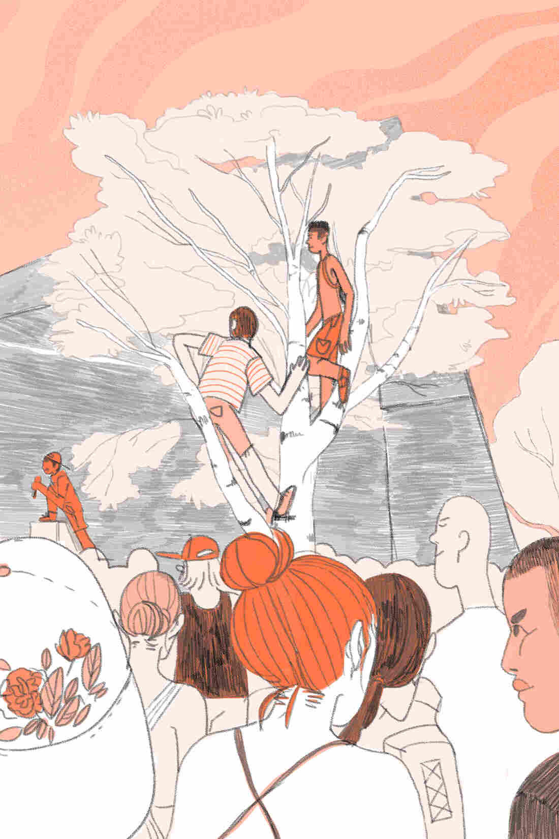 Illustration of Warped Tour 6 - Chelsea Beck/NPR