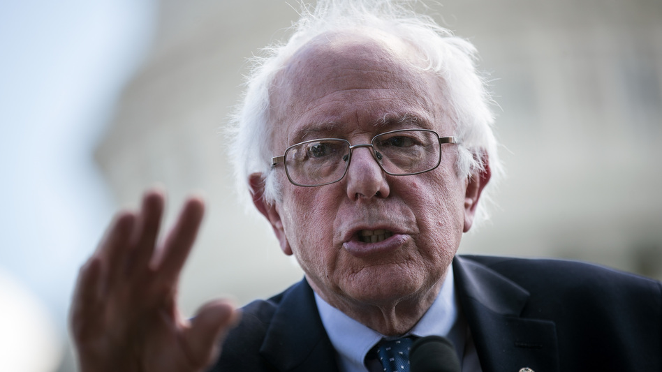 Sen. Bernie Sanders' speech is the type of move that a potential presidential candidate would make in the off years leading up to an election. (Drew Angerer/Getty Images)