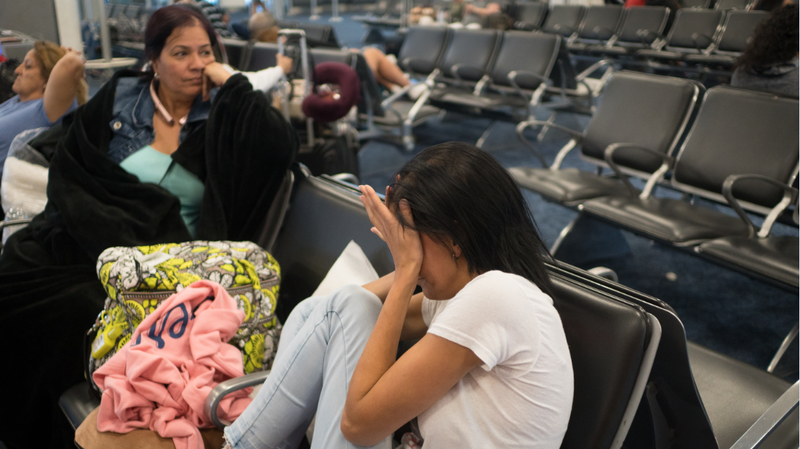 Frustrations Mount At Miami Airport As Passengers To Puerto Rico Wait And Worry