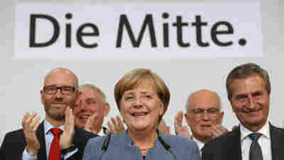 Angela Merkel Wins Mandate For 4th Term; Right-Wing Party Nabs Seats In Parliament