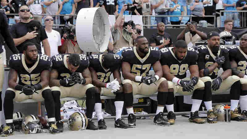 Trump Renews Debate Over National Anthem Protest, NFL Players Respond