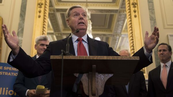 Sen. Lindsey Graham, R-S.C., and Sen. Bill Cassidy, R-La., will have their namesake health care bill discussed at a Senate Finance Committee hearing on Monday.