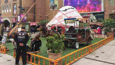 Wary Of Unrest Among Uighur Minority, China Locks Down Xinjiang Province