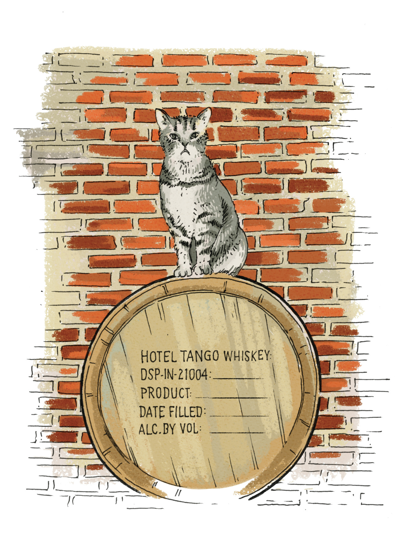 Distillery Cat Wanted: Must Be Affable, Brand-Boosting, Cold-Blooded Killer