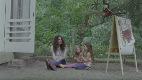 A still from Courtney Barnett & Kurt Vile
