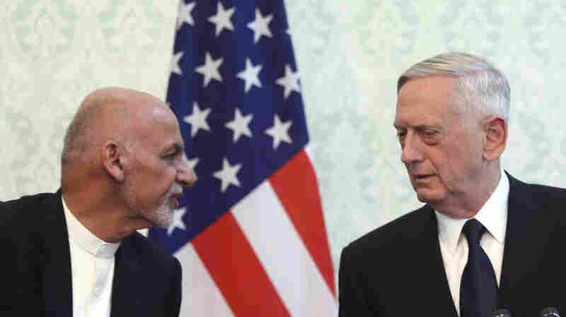Rockets Hit Kabul Airport After Mattis Arrives On Unannounced Visit