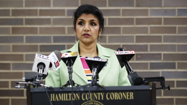 Dr. Lakshmi Sammarco said Wednesday her coroner