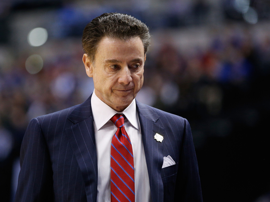 The University Of Louisville has put men's head basketball coach Rick Pitino on unpaid leave, after the program was mentioned in a wide-ranging federal fraud investigation. (Joe Robbins/Getty Images)
