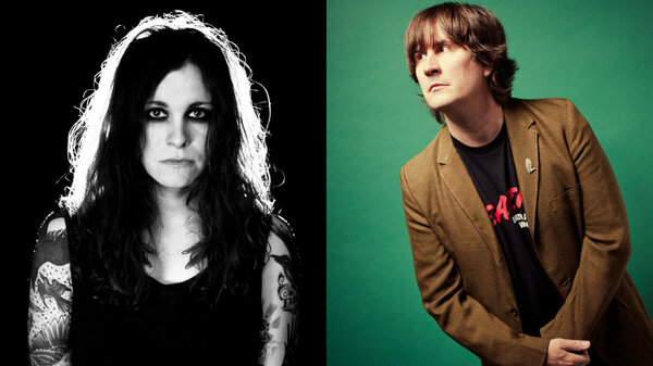 Laura Jane Grace (left) is one of 14 artists covering The Mountain Goats