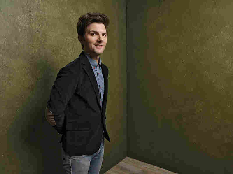 Actor Adam Scott poses for a portrait at the 2015 Sundance Film Festival.