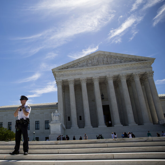 A 'Yellow Dog Contract' And Other Jabs During Supreme Court Opening Arguments