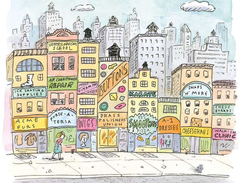 Cartoonist Roz Chast Draws A 'Love Letter' To New York City