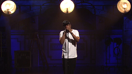 The personal was political for Jay-Z on Saturday Night Live.