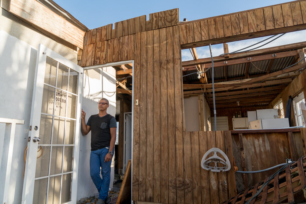 I Need A Strong House After Maria One Puerto Rican Grles With How To Rebuild