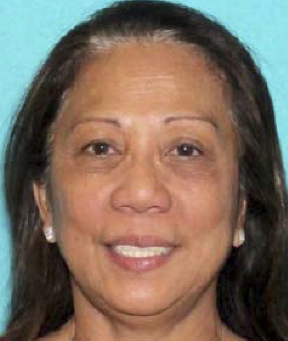 This undated photo of Marilou Danley, 62, was provided by the Las Vegas Metropolitan Police Department. Authorities are trying to determine why Stephen Paddock, Danley's boyfriend, killed dozens of people in Las Vegas on Sunday night. (AP)