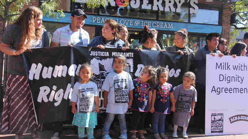 Ben & Jerry's Signs Deal To Improve Migrant Dairy Workers' Conditions