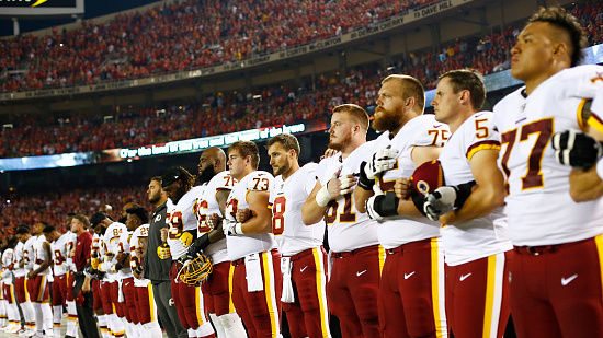 Many Americans Side With President Trump On NFL Anthem Protests   NPR 624487abb