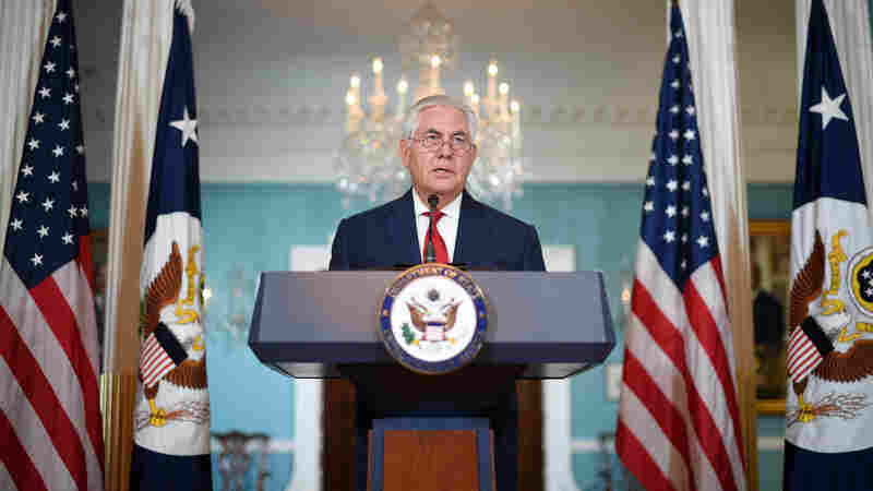Tillerson Says He Never Considered Resigning, Doesn't Deny Calling Trump A 'Moron'