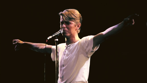 David Bowie performing live in 1978. A new box set collects all of Bowie