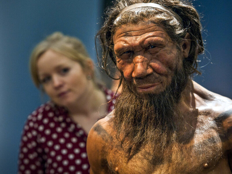 Neanderthal DNA Can Affect Skin Tone And Hair Color : Shots