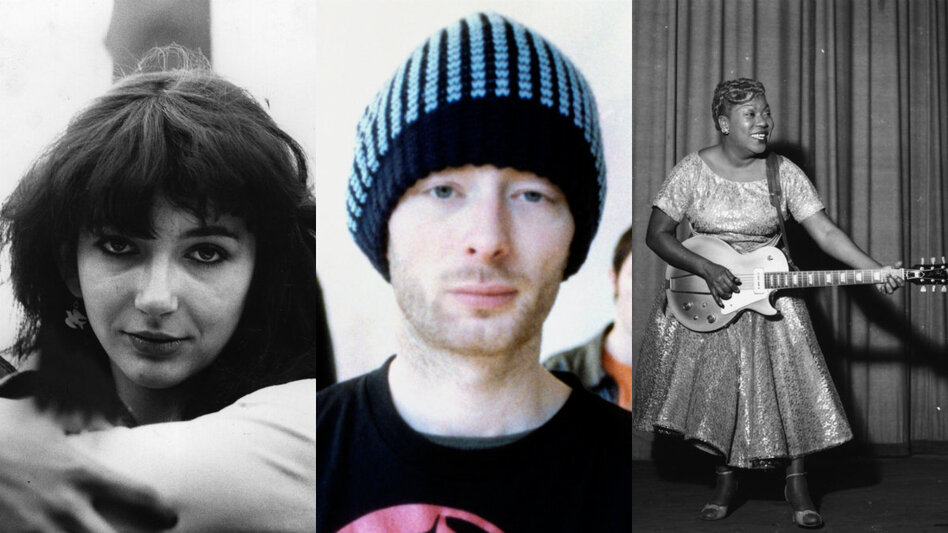 Kate Bush, Radiohead and Sister Rosetta Tharpe are all first-time Rock Hall nominees.