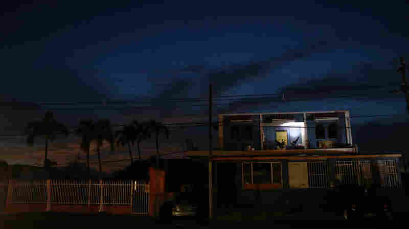 Weeks After Hurricane Maria, Puerto Rico Struggles To Turn On The Lights
