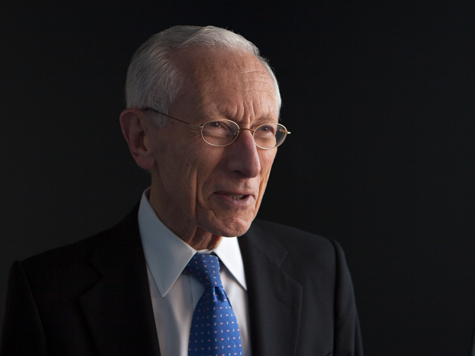 Stanley Fischer, who is resigning as Federal Reserve vice chair, says releasing transcripts of Fed meetings immediately could inhibit frank discussions among policymakers. (Jennifer Kerrigan/NPR)