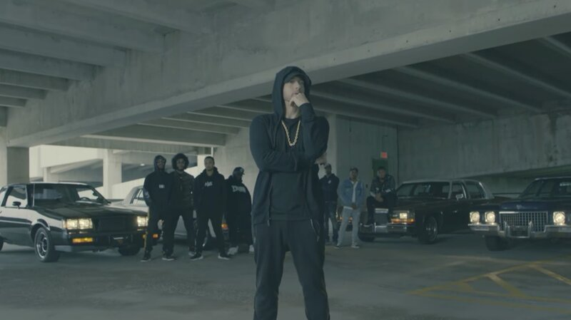 dbc68fb18d7 Eminem s Presidential Dis Wasn t The Only Political Statement At BET Hip  Hop Awards